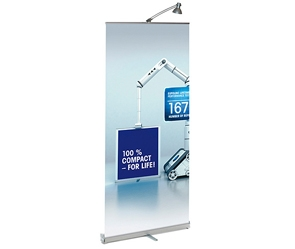 De Roll up banner bij Spandoekenstunter